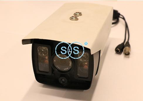 200万像素LED4灯网络有线枪机型摄像头
