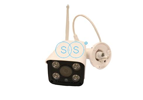 LED4灯WiFi无线枪机型摄像头