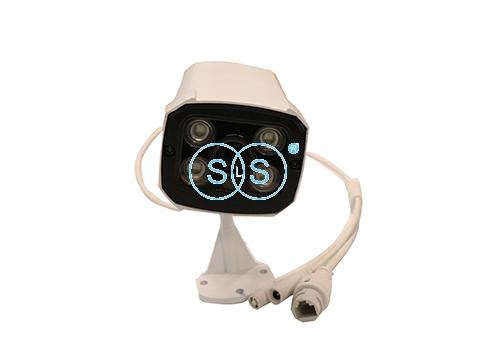 LED4灯可录音WiFi无线枪机型摄像头