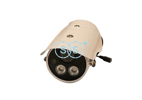 LED双灯有线人脸识别枪机型摄像头