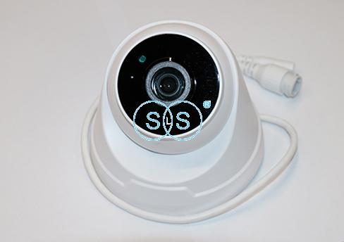 可录音网络有线半球形摄像头